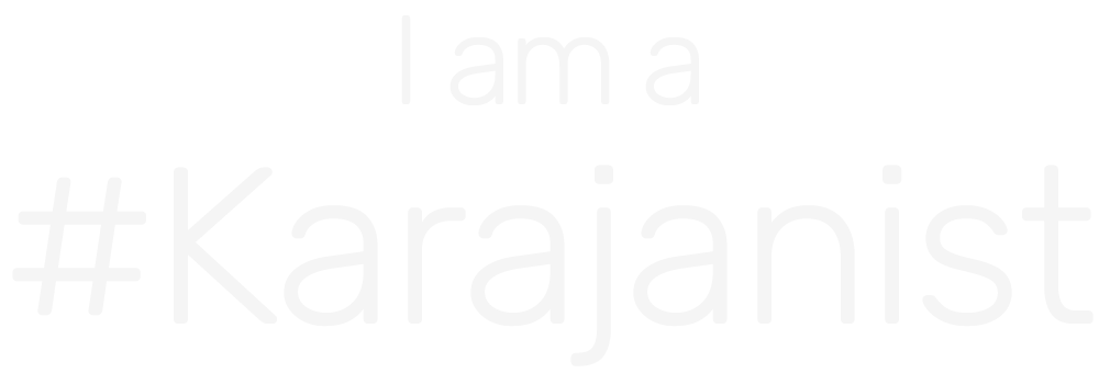 I am a #Karajanist / Merchandise